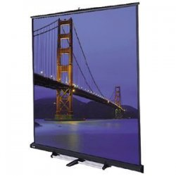 "Da-Lite - 97219 - Da-Lite Floor Model C Portable Projection Screen - 43"" x 57"" - Matte White - 72"" Diagonal"