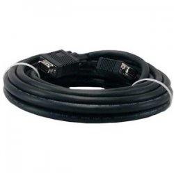 QVS - CC388B-25 - QVS Premium VGA Cable - HD-15 Male - HD-15 Male - 25ft - Black