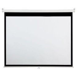 "Draper - 800002 - Draper AccuScreen Manual Projection Screen - 49"" x 87"" - Matte White - 100"" Diagonal"