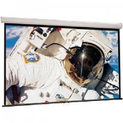 "Draper - 207101 - Draper Luma Manual Wall and Ceiling Projection Screen - 52"" x 92"" - Matte White - 106"" Diagonal"