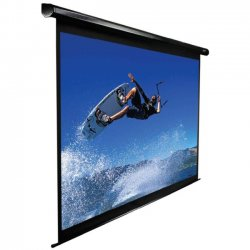 "Elite Screens - VMAX170XWS2 - Elite Screens VMAX170XWS2 VMAX2 Ceiling/Wall Mount Electric Projection Screen (170"" 1:1 Aspect Ratio) (MaxWhite FG) - 120"" x 120"" - Matte White - 170"" Diagonal"