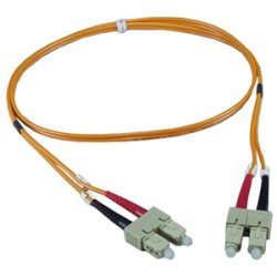QVS - FDSC-1M - QVS Multimode Fiber Duplex Cable - Male - 3.28ft