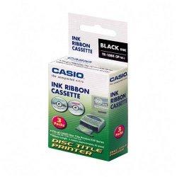 Casio - TR-18BK-3P - Casio Ribbon Cartridge - Thermal Transfer - Black