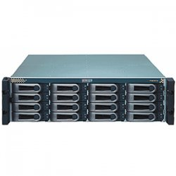 "Promise Technology - VTJ610SD - Promise VTrak J-Class VTJ610SD Enclosure - 16 x 3.5"" - 1/3H Front Accessible Hot-swappable - Serial ATA/300, Serial, SAS - Rack-mountable"