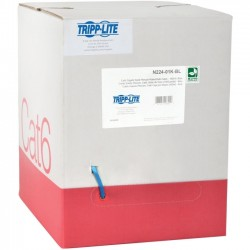 Tripp Lite - N224-01K-BL - Tripp Lite 1000FT Plenum CMP Cat 6 Solid UTP Bulk Cable Blue 1000' - Category 6