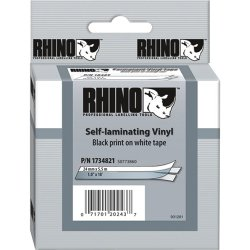 "DYMO - 1734821 - Dymo Self Laminating Thermal Label - 1"" Width x 216"" Length - White"