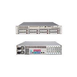 Supermicro - AS-2021M-32RV - Supermicro A+ Server 2021M-32RV Barebone System - nVIDIA MCP55 Pro - Socket F (1207) - Opteron (Quad-core), Opteron (Dual-core) - 1000MHz Bus Speed - 32GB Memory Support - DVD-Reader (DVD-ROM) - Gigabit Ethernet - 2U Rack