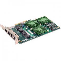 Supermicro - AOC-UG-I4 - Supermicro Universal I/O 4-Port Gigabit Ethernet LAN Card - PCI Express x8 - 4 x RJ-45 - 10/100/1000Base-T