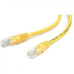 StarTech - M45PATCH1YL - StarTech.com 1 ft Yellow Molded Cat5e UTP Patch Cable - Category 5e - 1 ft - 1 x RJ-45 Male - 1 x RJ-45 Male - Yellow