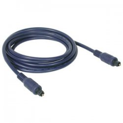 C2G (Cables To Go) - 40392 - C2G 3m Velocity TOSLINK Optical Digital Cable - Toslink Male - Toslink Male - 9.84ft - Blue