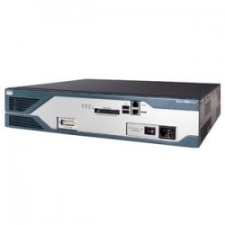 Cisco - CISCO2851-V/K9-RF - Cisco 2851 Integrated Services Router - 2 x AIM, 4 x HWIC, 1 x NME, 1 x Expansion Slot, 3 x PVDM - 2 x 10/100/1000Base-T LAN, 2 x USB