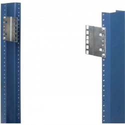 "Rack Solution - 2UBRK-23J-PAIR - Innovation 2U 23"" to 19"" Joggled Reducer Brackets"