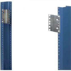 "Rack Solution - 2UBRK-24J-PAIR - Innovation 2U 24"" to 19"" Joggled Reducer Brackets"