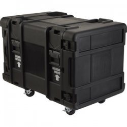"SKB Cases - 3SKB-R910U28 - SKB 3SKB-R910U28 10U Roto Rack - Internal Dimensions: 19"" Width x 33.25"" Depth x 17.50"" Height - 41.37 gal - Latching Closure - Heavy Duty - Stackable - Polyethylene - Black - For Multipurpose"