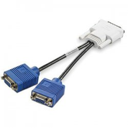 Hewlett Packard (HP) - GS567AA - HP VGA Cable - DMS-59 Male - HD-15 Female