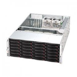 Supermicro - CSE-846TQ-R900B - Supermicro SC846TQ-R900B Chassis - Rack-mountable, Tower - Black