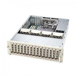 Supermicro - CSE-933E2-R760B - Supermicro SC933E2-R760B Chassis - Rack-mountable - Black