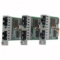 Omnitron - 8443-2 - Omnitron Systems iConverter 2Fx Managed Fast Ethernet Media Converter & Switch - 2 x SC Duplex - 100Base-FX