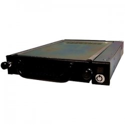"CRU / Wiebetech - 6467-7100-0500 - CRU Data Express 275 Hard Drive Carrier - 1 x 3.5"" - 1/3H Internal - Internal - Black"
