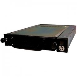 "CRU / Wiebetech - 6467-7101-0500 - CRU Data Express 275 Hard Drive Carrier - 1 x 3.5"" - 1/3H Internal - Internal - Black"