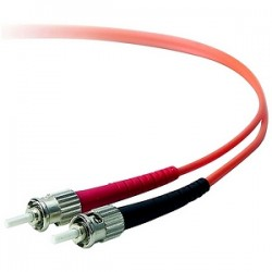 Belkin - A2F20200-10M - Belkin Duplex Fiber Optic Patch Cable - ST Male - ST Male - 32.81ft