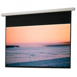 "Draper - 132034 - Draper Salara Electrol Projection Screen - 64"" x 84"" - High Contrast Gray - 100"" Diagonal"
