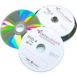 DataLocker - DLDVD100 - DataLocker EncryptDisc DVD-R 100 Pack Self-Encrypting Optical Media - FIPS 140-2 Validated 256-bit AES Data Encryption with Inkjet Printable Surface