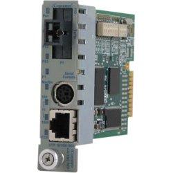 Omnitron - 8923N-3 - iConverter GX/TM2 Media Converter - 1 x Network (RJ-45) - 1 x SC Ports - 10/100/1000Base-T, 1000Base-X - Internal