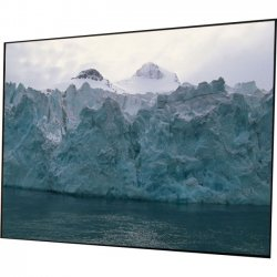 Draper - 252258 - Draper Clarion 252258 Fixed Frame Projection Screen - 110 - 16:9 - Wall Mount - 58 x 100 - AT1200