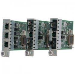 Omnitron - 8431-2 - Omnitron Systems iConverter Tx/2Fx UTP to Fiber Media Converter - 1 x RJ-45 , 2 x SC - 100Base-TX, 100Base-FX