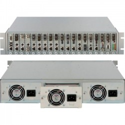 Omnitron - 8207-9 - Omnitron Systems Redundant Power Supply - 48 V DC Input Voltage - Rack-mountable - 120 W
