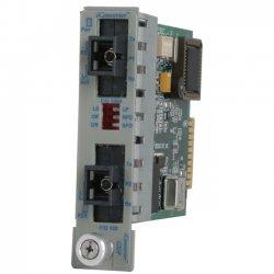 Omnitron - 8562-03 - Omnitron Systems iConverter GX/F Media Converter - 2 x SC Ports - 1000Base-X, 100Base-FX - Internal