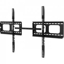 SIIG - CE-MT0V12-S1 - SIIG Low-Profile Universal XL TV Mount - 60 to 102 - For Flat Panel Display - 60 to 102 Screen Support - Steel - Black