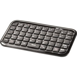 I/O Magic - I012K01BS - I/OMagic Keyboard - Wireless Connectivity - Bluetooth - 49 Key - Compatible with Computer, Cellular Phone, Tablet (PC, Mac, iOS, Android)