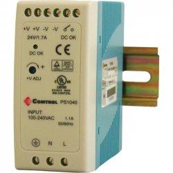 Comtrol - 32103-3 - Comtrol PS1040 Proprietary Power Supply - 110 V AC, 220 V AC Input Voltage - DIN Rail - 88% Efficiency - 40 W