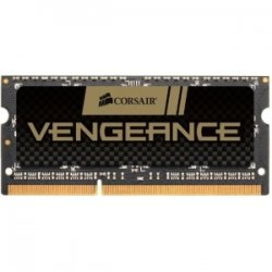 Corsair - CMSX8GX3M1A1600C10 - Corsair Vengeance 8GB DDR3 SDRAM Memory Module - 8 GB (1 x 8 GB) - DDR3 SDRAM - 1600 MHz DDR3-1600/PC3-12800 - 1.50 V - Unbuffered - 204-pin - SoDIMM