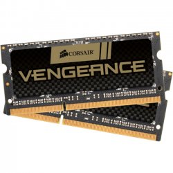 Corsair - CMSX16GX3M2A1600C10 - Corsair Vengeance 16GB DDR3 SDRAM Memory Module - 16 GB (2 x 8 GB) - DDR3 SDRAM - 1600 MHz DDR3-1600/PC3-12800 - 1.50 V - Non-ECC - Unbuffered - 204-pin - SoDIMM
