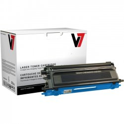 V7 - TBC2TN115CH - V7 Cyan High Yield Toner Cartridge for Brother HL-4040CN, HL-4040CDN, HL-4070CDW; MFC-9440CN, MFC-9450CDN, MFC-9840CDW; DCP-9040CN, DCP-9045CDN TN115C 4K YLD - Laser - 4000 Page