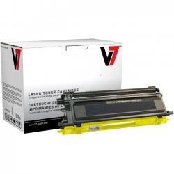 V7 - TBY2TN115YH - V7 Yellow High Yield Toner Cartridge for Brother HL-4040CN, HL-4040CDN, HL-4070CDW; MFC-9440CN, MFC-9450CDN, MFC-9840CDW; DCP-9040CN, DCP-9045CDN TN115Y 4K YLD - Laser - 4000 Page