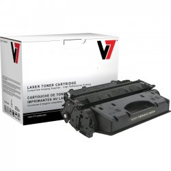 V7 - TCK22617 - V7 Black Toner Cartridge for Canon image CLASS D1120, D1150, D1170, D1180 (120) 2617B001AA 5K YLD - Laser - 5000 Page