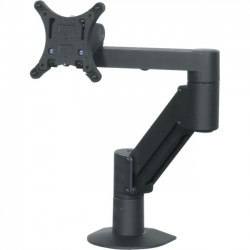 Middle Atlantic Products - MMB1X1 - Middle Atlantic Products Mounting Arm for Flat Panel Display - 22 Screen Support - 25 lb Load Capacity - Black
