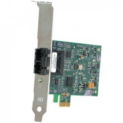 Allied Telesis - AT-2711FX/LC-901 - Allied Telesis Fast Ethernet Fiber Network Interface Card with PCI-Express - PCI Express x1 - 1 Port(s) - Low-profile, Full-height