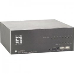 CP Tech / Level One - NVR-0208 - LevelOne NVR-0208 Network Video Recorder 8-CH - Digital Video Recorder - Motion JPEG, MPEG-4, H.264, AVI Formats