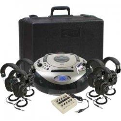 Califone - 1886PLC-6 - Califone Spirit Sd Listening Center W/ 6headphone Via Ergoguys
