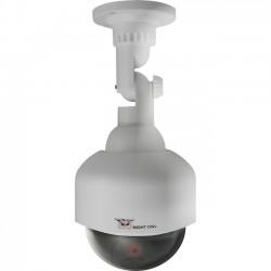 Night Owl Optics - DUM-PTZ-W - Night Owl Decoy PTZ Camera with Flashing LED Light - Dome - Flash LED - Pan - For Indoor, Outdoor