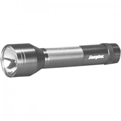 Energizer - ENML2DS - Energizer LED Metal Flashlight - D - AluminumCasing - Silver
