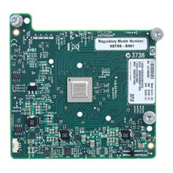 Hewlett Packard (HP) - 644160-B21 - HP InfiniBand QDR/EN 10Gb Dual Port 544M Adapter - PCI Express x8 - 2 Port(s)