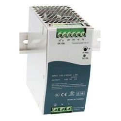 Transition Networks - 25104 - Transition Networks 48 VDC Industrial Power Supply - 110 V AC, 220 V AC Input Voltage