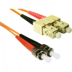 CP Tech / Level One - STSC-10 - ClearLinks 10 Meters ST-SC 62.5 MM OFNR Duplex 2.0MM - ST Male - SC Male - 32.81ft
