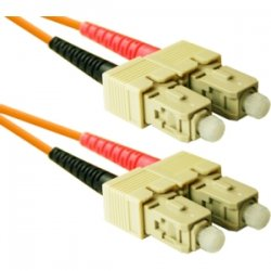 CP Tech / Level One - SC2-06 - ClearLinks 6 Meters SC-SC 62.5 MM OFNR Duplex 2.0MM - 6 Meters SC-SC 62.5 MM OFNR Duplex 2.0MM